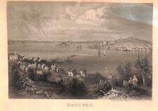 Ap319 British Canada Postal Stationery 1820s *HALIFAX*NS Illustrated Lettersheet
