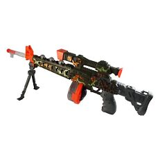 Electronic Special Super Battery Operated Toy Gun with LED Light & Realistic Gun