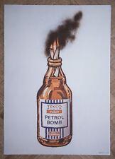 Banksy Tesco Petrol Bomb Poster A2