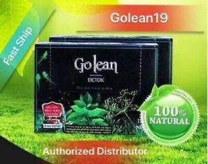 2 Boxes Golea Herbal Tea- Natural Detox Weight Loss Capsules. Exp 05/2021