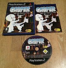Casper e il Fantasmatico Trio-Gioco PS2 PLAYSTATION 2-COMPLETO