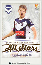 2013-14 A League Trading Cards All Stars AS10 Adrjan Leijer (Melbourne Victory)