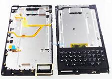 Qwerty Keypad Keyboard+Speaker+Power Volume Button for BlackBerry Priv Black New