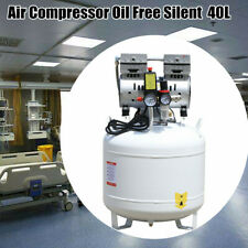 Dental Air Compressor Medical Noiseless Oilless Oil Free 40l 750w Equip Air Pump