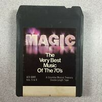 Magic Very Best Music of the 70's Vol 5 & 6 8-Track Tape A23 6680 Columbia House