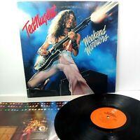 "Ted Nugent LP ""Weekend Warrior"" 1978 original VG+"