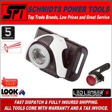 LED LENSER SEO B3 B2R WHITE FRONT BIKE LIGHT & RECHARGEABLE REAR LAMP ZL9022