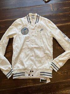 Womens Nike sportswear Varsity Jacket coat Size Small UK 10 baseball retro cool