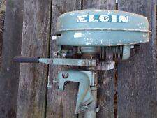 Vintage / Antique Elgin Outboard Boat Motor Sears