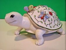 Lenox Summer Enchantment Turtle Artist Parvaneh Holloway sculpture New n Box Coa