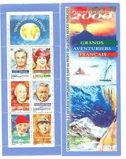 CARNET PERSONNAGES CELEBRES 2000 GRANDS AVENTURIERS BC 3348 **  LUXE