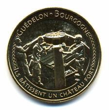 89 TREIGNY Chantier de Guédelon 8, La clé de voûte, 2021, Monnaie de Paris