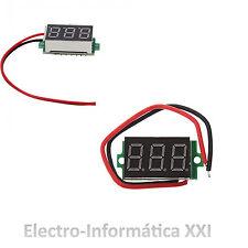 Voltmetro Digitale 30V DC 0-30V CC Led Verde Arduino, Batterie, Energia Solare