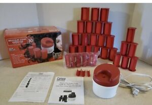 Caruso  Professional C97954 Steam Hairsetter 30 Rollers Brand New Open Box