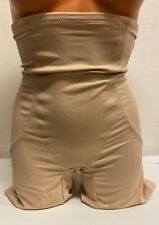 Miraclesuit Shapewear Back Magic High Waist Thigh Slimmer Nude Size Large