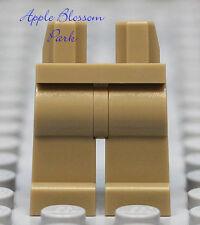 NEW Lego Girl/Boy Minifig Plain DARK TAN LEGS -City Male/Female Khaki Minifigure