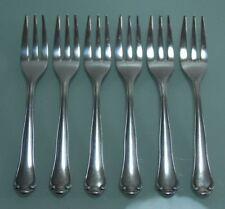 6 Kuchengabeln Koch & Bergfeld eleganter Entwurf 90er Silberauflage