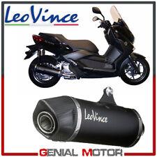 Scarico Completo Leovince Nero Acciaio Yamaha X Max 250 2006 > 2016