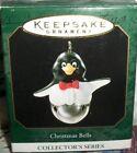 Christmas Bells`1999`Miniature-Penguin Christmas Bells Series,Hallmark Ornament