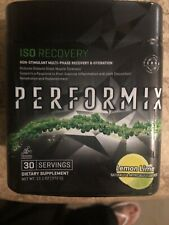 Performix ISO Recovery Lemon Lime Flavor 12.8 Oz 30 Servings Exp 12/19