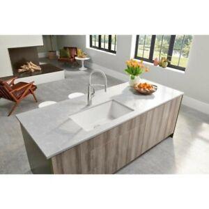 "Blanco Precis 32"" Granite Single-Basin Undermount Kitchen Sink (32""x19""x9.5"")"