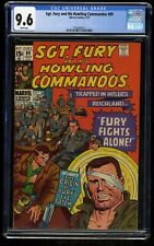 Sgt. Fury and His Howling Commandos #89 CGC NM+ 9.6 White Pages Marvel Comics