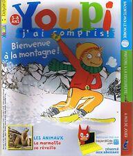 Revue YOUPI  269  La Montagne Marmotte magazine documentaire enfant 5 / 8 ans