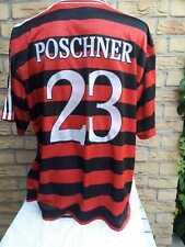 VfB Stuttgart Trikot adidas 1997/98 POSCHNER Matchworn Away Jersey Shirt Maglia