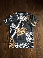 Moschino Swim Animal Print T-Shirt EU Extra Small (DUSTBAG INCLUDED)