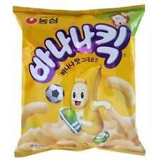 Nongshim BANANA KICK Korean Snacks BANANA Flavor Snack - 140g