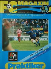 Programm 1998/99 1. FC Saarbrücken - Borussia Dortmund Am.