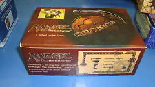 Magic the Gathering Mtg Empty Chronicles Booster box!