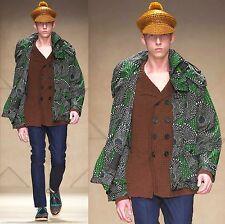 $2,995 RUNWAY Burberry Prorsum Packaway 40 50 Emerald Rain Jacket Men ITALY 1