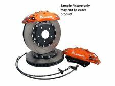 Brake Kit Ksport 356mm DISC ROTORS FRONT Brakes FOR Holden HQ BIG