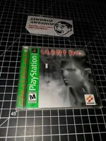 SILENT HILL 1 PS1 COMPLETE USED TESTED WORKING (MINOR WEAR ONLY) SEE ALL PHOTOS