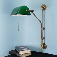 Banker Wandlampe Wandleuchte Bankerwandlampe Leselampe Messinglampe w50c