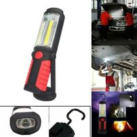 Rechargeable COB+LED Hand Torch Lamp Magnetic Inspection Work Light Flexible Vv