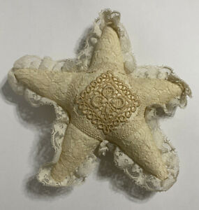 Vintage Cloth Lace Star Tree Topper