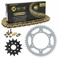Sprocket Chain Set for Suzuki RMZ450 14/49 Tooth 520 X-Ring Front Rear Combo Kit