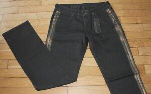 IKKS Jeans pour Femme W 30 - L 34 Taille Fr 40  Neuf (Réf #O046)