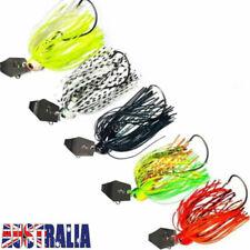 5pcs 3/8oz Chatterbait Lures Spinnerbaits Dera Spinner Buzz Bait Bass Barra Cod