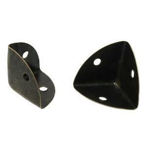 4 Schutzecken / Kantendekore für Kisten 25x25mm, antikmessing (0,55€/1Stk)