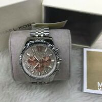 Michael Kors Men's Chronograph Lexington  Bracelet Watch 44mm MK8515