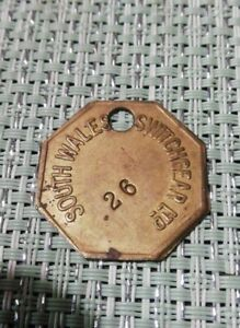 South Wales Colliery Pit Check Token ?