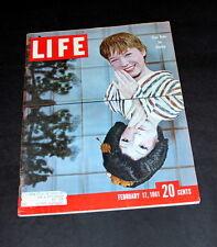 LIFE MAGAZINE FEBRUARY 17 TH 1961 SHIRLEY MCCLAIN
