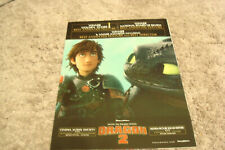 HOW TO TRAIN YOUR DRAGON 2 Golden Globe & Annie Winners ad Toothless, Hiccup