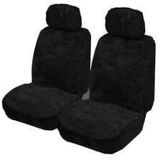My Car SMOUA3004 Sheepskin Seat Cover - Black