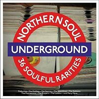 NORTHERN SOUL UNDERGROUND 2 VINYL LP RECORDS - 36 SOULFUL RARITIES