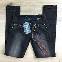 Stitch's Totem Black Stretch Skinny Women's Jeans Size 25 BNWT (U15)
