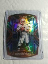 New listing Peyton Manning 2020 Panini Select Club Level Maroon Prizm Die-Cut #231 Colts